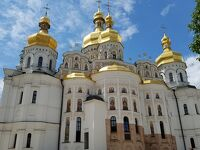 ロシア正教会どっさり、ウクライナ騒乱の記憶が新しいキエフに来たよ
