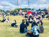 ロンドン郊外で音楽フェスティバル