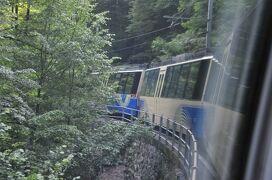 2013年スイス旅行記 第21回 イタリアとスイスを結ぶ山岳路線、チェントヴァッリ鉄道に乗る