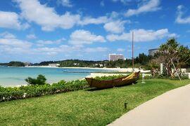沖縄旅行2021春⑧:ハレクラニ沖縄のビーチ