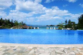 沖縄旅行2021春⑨:ハレクラニのプールと福寿しの夕食