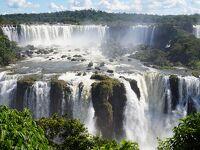 イグアスの滝をブラジル側とアルゼンチン側から見る(動画)
