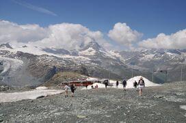 2013年スイス旅行記 第24回 マッターホルン散策 ゴルナーグラートからリッフェルベルクまで歩き、下山