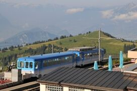 2013年スイス旅行記 第26回 アルト・ゴルダウからリギ登山鉄道に乗る