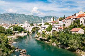 シニアのハンガリー、クロアチア、イタリアの旅[13] モスタル、マリストン