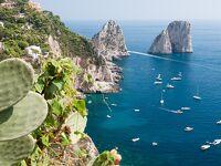 シニアのハンガリー、クロアチア、イタリアの旅[19] カプリ島、ナポリ(1)