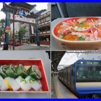 初夏の横浜(9終)みなとみらい線で横浜駅へ。CIAL横浜でお弁当買ってスカ線新型グリーン車で久里浜へ