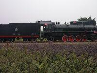 建設B型蒸気機関車(西南交通大学犀浦キャンパス)