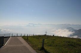 2013年スイス旅行記 第27回 リギ山の山頂を散策