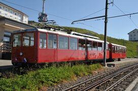 2013年スイス旅行記 第28回 リギ登山鉄道でフィッツナウに下山