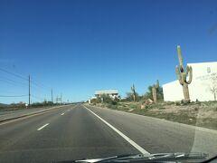 アリゾナ州 モリソンタウン - 60号線を北上して現れた村