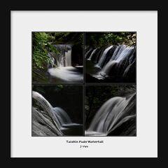 ◆青葉若葉の大信聖ヶ岩不動滝