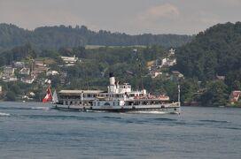 2013年スイス旅行記 第29回 船に乗ってフィッツナウからルツェルンへ