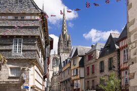 シニアのフランスの旅[7] ディナン(2)、モンコントゥール、ル・ファウ、カンペール