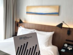 急遽  昨年開業の川崎の最新ホテルで、おこもりステイ♪