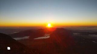 202108 富士山登山 下り【日本百名山】