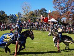 ノーマスクだった シドニー・中世の騎士フェスティバル (Medieval festival in Sydney)