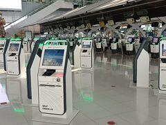 2021年9月18日:コロナ禍の寂しいスワンナプーム空港