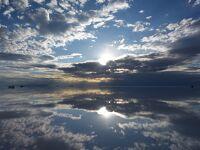 ボリビア旅行④(天空の鏡:ウユニ塩湖Ⅱ 夕景~夜景)