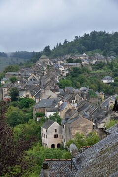 シニアのフランスの旅[14] カルダヤック、コンク、コルド・シュル・シェル(1)、ナジャック(1)