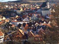 冬のチェコ一人旅2013-③ チェスキー・クルムロフ「世界で最も美しい街」日帰り観光