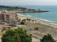 バルセロナ滞在で、タラゴナとモンセラットも見る