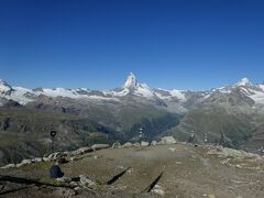 スイス ツェルマット トレッキング エーデルワイスを求めて