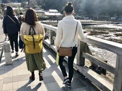 妻と娘を連れて、京都旅行②