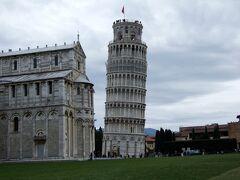 北イタリア2008 ピサ 正月家族旅行