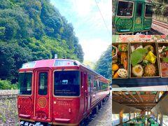 初めての観光列車、四国まんなか千年ものがたり!!