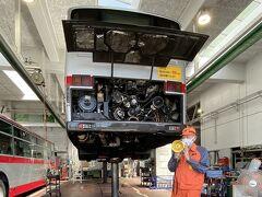 東急バスの運転士体験