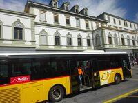 絶景が広がるアルプスの山歩きと鉄道の旅:スイス、リヒテンシュタイン旅行【41】(2019年秋 7日目⑥ フィスプとブリーク)