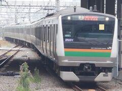 E OCT 2021  テツ旅Ⅲ・・・・・①湘南新宿ライン