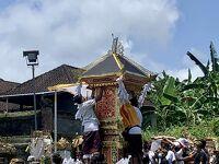 バリ島の火葬式