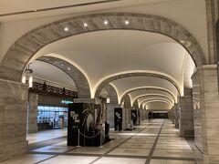 出勤途中の早朝街歩き⑩ 表参道~日比谷~ 銀座~丸の内:いいじゃない、東京ミッドタウン日比谷の地下はモスクワのメトロ構内の雰囲気!