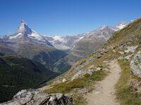 スイスアルプス巡り・マッターホルンを見ながらハイキング(動画)