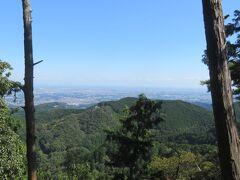飯能・奥武蔵の吾野駅から顔振峠と越上山を歩きました