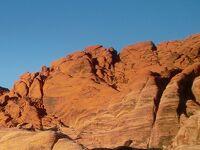ネバダ州 レッドロック国立公園 - 無料で入れる料金ゲート手前のエリアへ