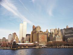 【リバティ島へ】  バッテリー パーク(Battery Park)から自由の女神(Statue of Liberty National Monument)があるリバティ島(Liberty Is.)やエリス島(Ellis Is.)などに行くフェリーが出ています。 今回はリバティ島行きのフェリーに乗りました。  Battery Park, New York City, New York