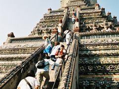 この当時は急な階段を上まで上ることができました。