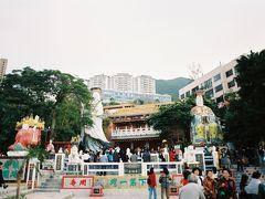香港2日目、市内観光の一部として香港島の反対にあるレパルス・ベイに行きました。