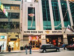 ここにもハードロックカフェがありました。