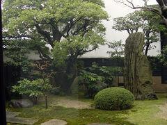 平田本陣記念館の庭