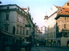 99年3月 旧市庁舎横の通り。