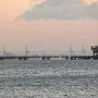 大阪湾の初日の出