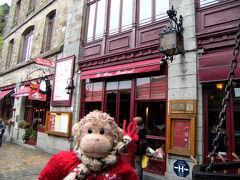 ラ・メール・プラール。  大きなふわふわオムレツで有名なお店。  昔、プラールおばさんが、巡礼者の為に、 栄養とボリュームが有って 早く食べられる様にって考えたのが、 始まりなんだそうです。  食べなかったね。