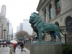 シカゴ美術館は長蛇の列ができてました。
