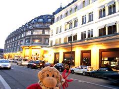 さあ、リサーチの始まり。 閉店までの間に頑張ってパリの百貨店を巡ります。  フランス最古のデパート<ル ボン マルシェ>  フランスで、<ザ コンランショップ>も入ってます。