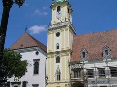 スロバキアの首都プラチスラバに到着