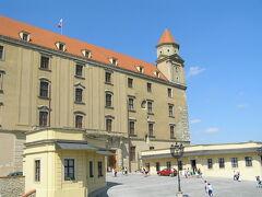 ブラチスラバ城でした